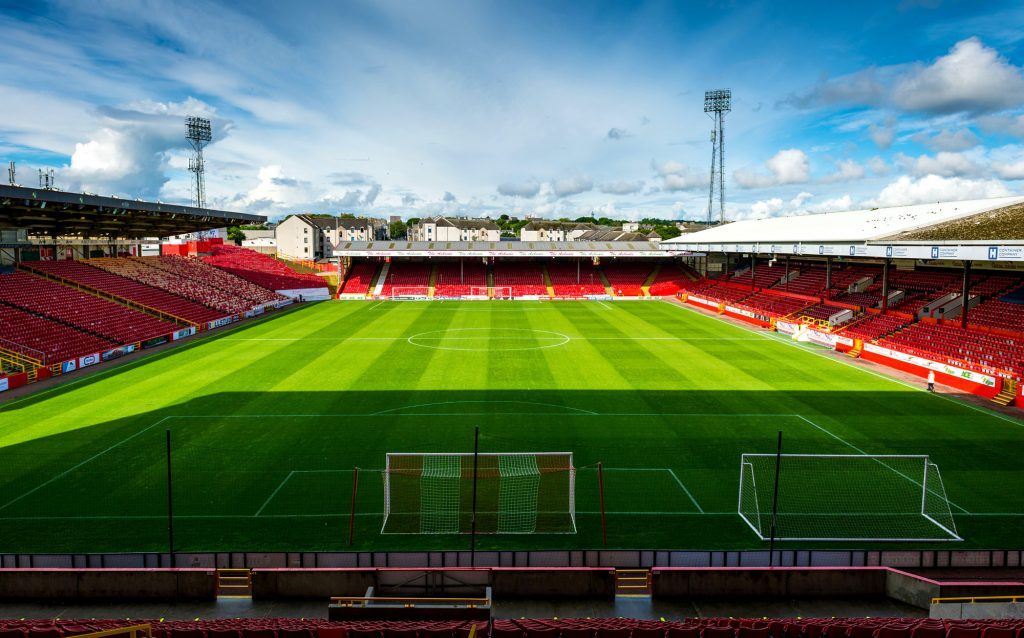 Image result for pittodrie stadium