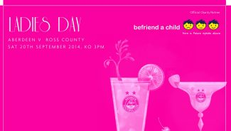 AFC Ladies Day 2014 helps to raise over £4,000 for Befriend A Child