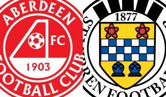 Ticket details | Aberdeen v St Mirren, Tues 30th Sept, KO 7.45pm