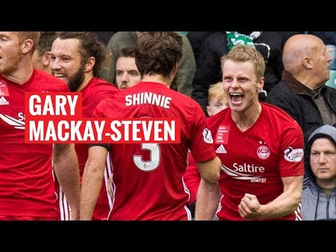 Gary Mackay-Steven scores his second goal for The Dons