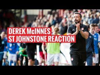 Aberdeen 3-0 St Johnstone | Derek McInnes