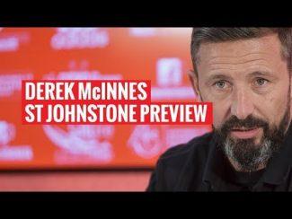 Derek McInnes | St Johnstone Preview