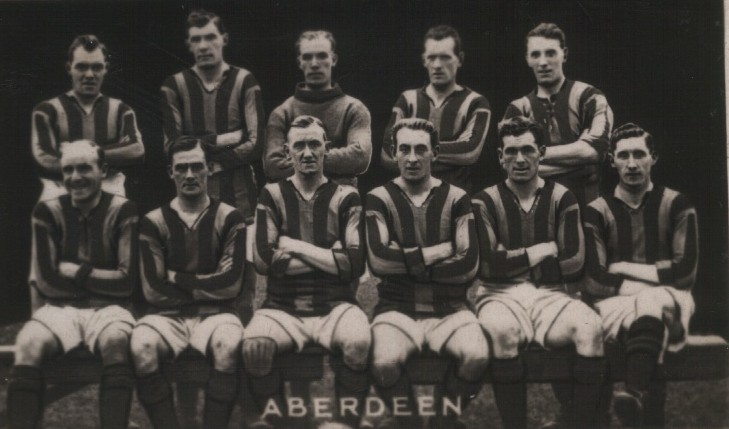 The 1923 Aberdeen team