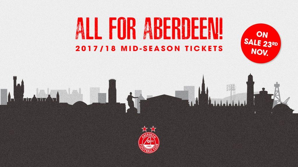 Mid-Season Tickets | On Sale 23rd November!