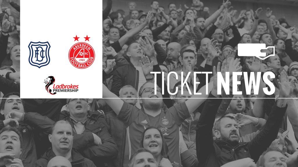 Dundee v Aberdeen Ticket News