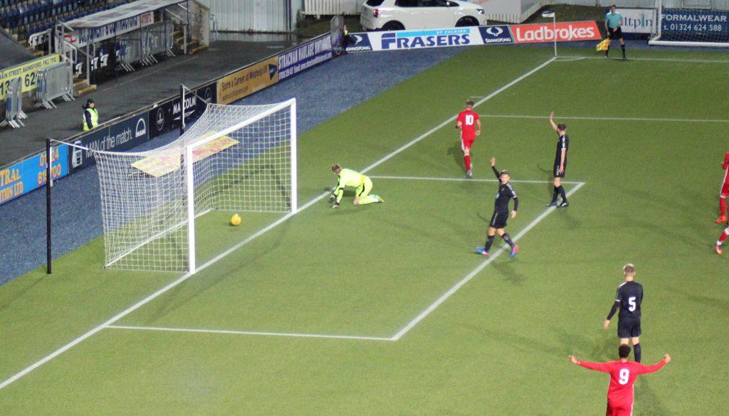 DL | Falkirk 0 Aberdeen 2