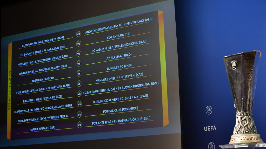 UEFA Europa League | 2nd Qualifying Round Draw in full