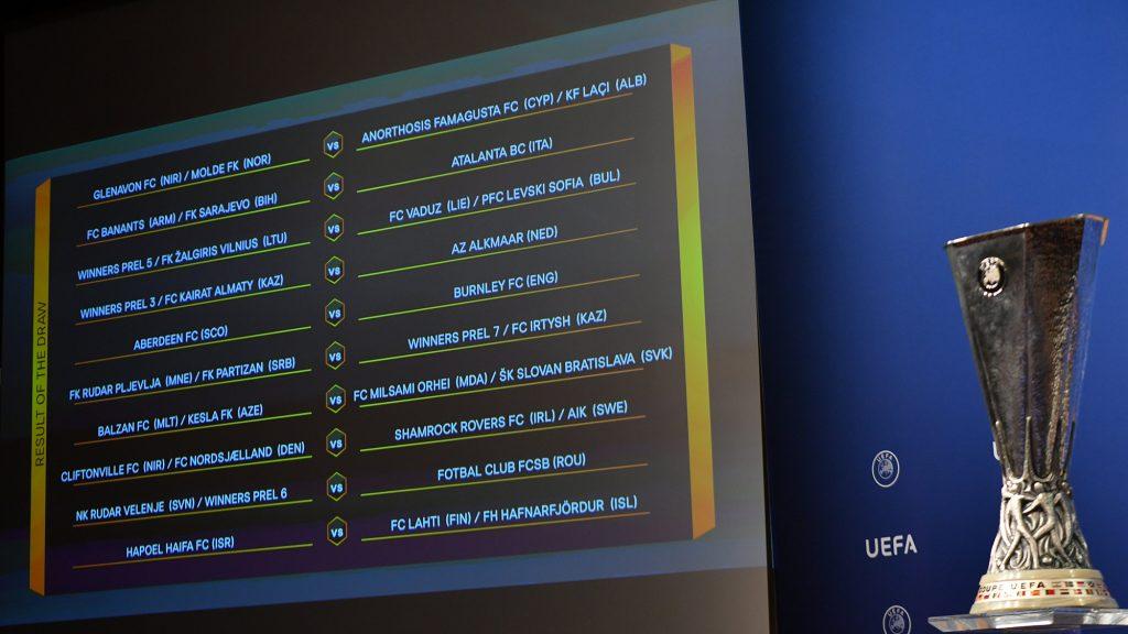Aberdeen Fc Uefa Europa League 2nd Qualifying Round Draw In Full