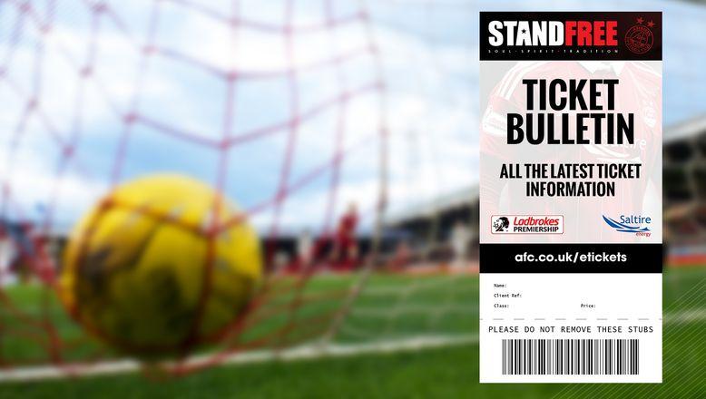 Ticket Bulletin | Monday 25th March