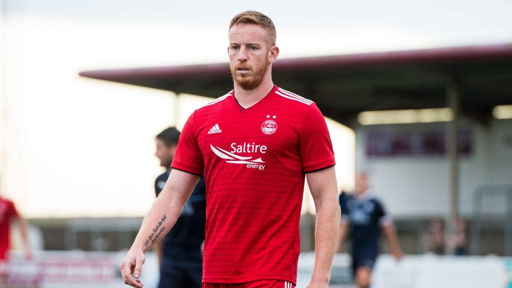Adam Rooney departs Pittodrie