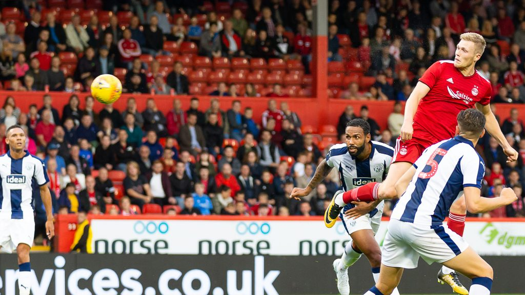 Aberdeen 1-1 West Brom | Report