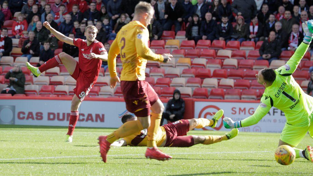 Aberdeen 1-0 Motherwell | match summary