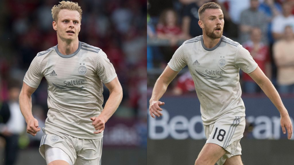 Michael and Gary called up to Scotland squad