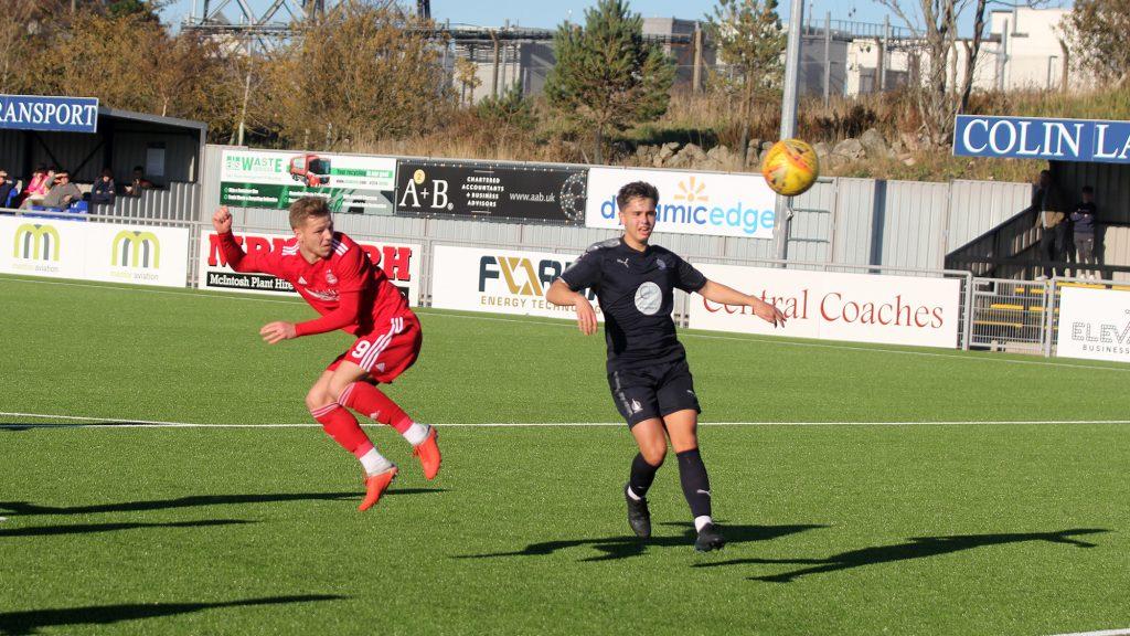 match report   Aberdeen Res 4 Falkirk Res 0
