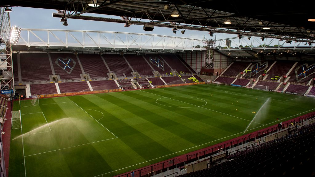 RedTV coverage from Tynecastle