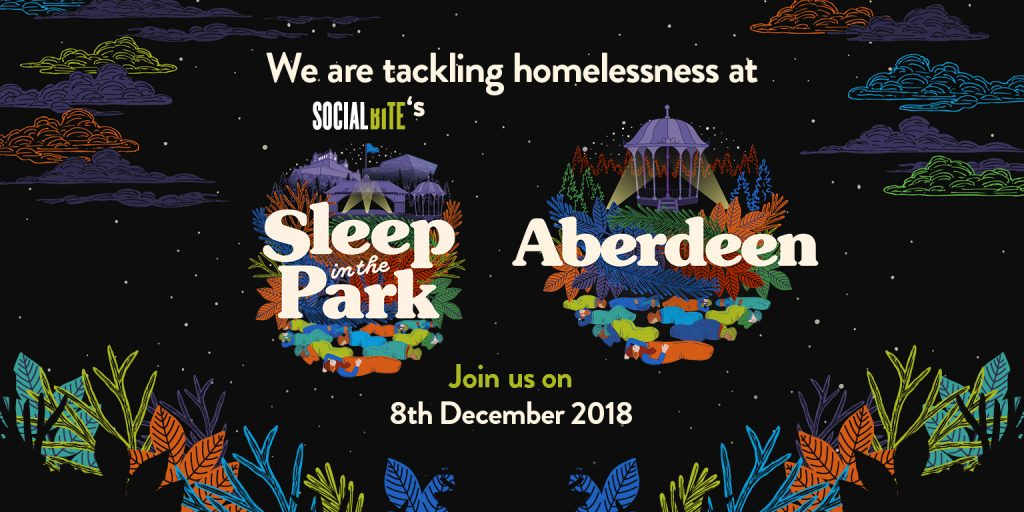 Support Social Bite's Sleepout in Aberdeen