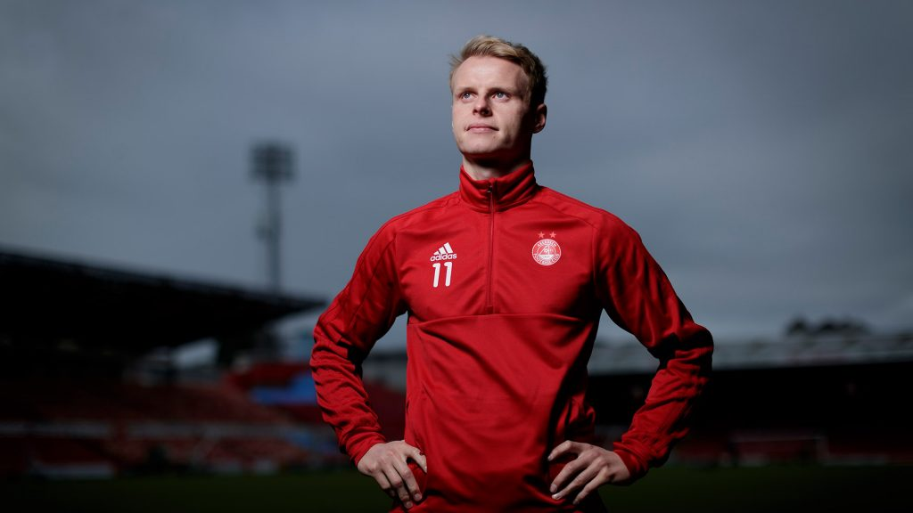 Gary Mackay-Steven | Red Matchday Interview