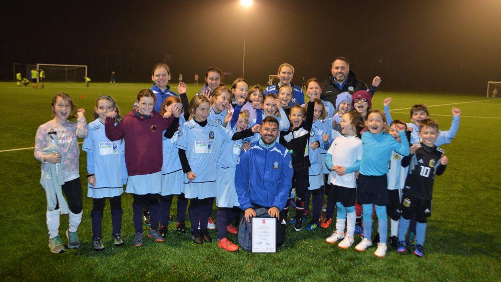 Westdyke Coach Receives Vattenfall Award of the Month