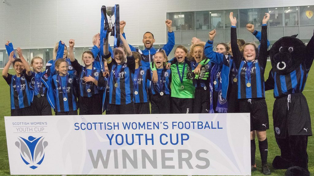 Donside Girls To Parade Scottish Cup Trophy