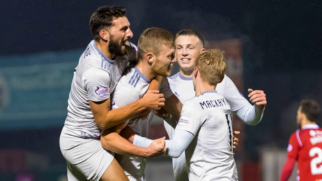 Dons claim vital win in Lanarkshire