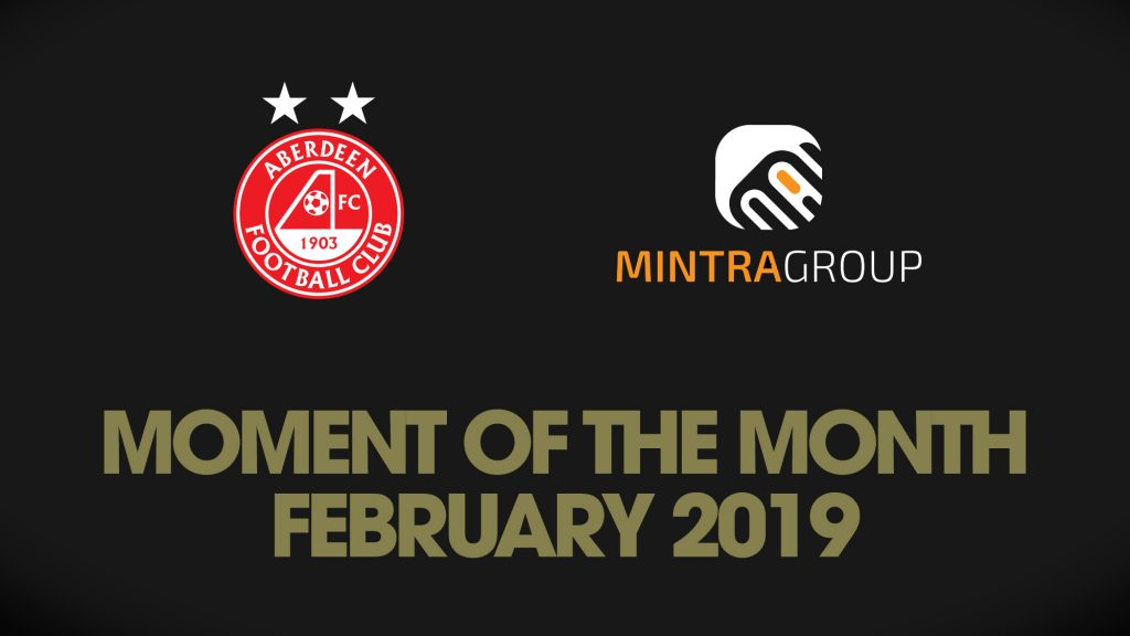 Voting now open for February's MINTRA GROUP Moment of the Month