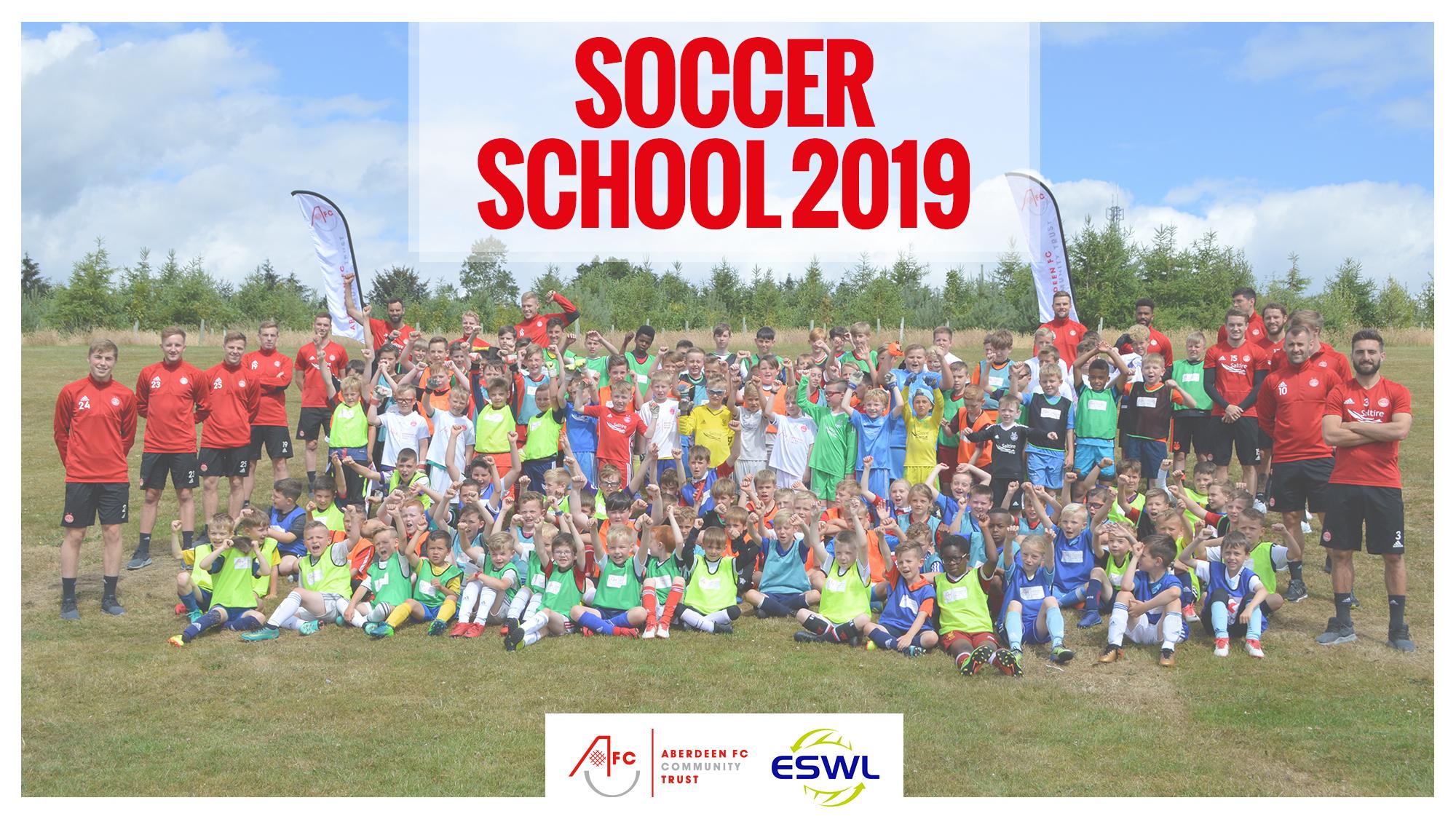 Soccer School 2019 on sale now!