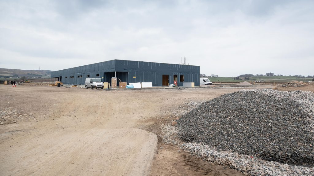 First glimpse of new training facilities as construction continues apace