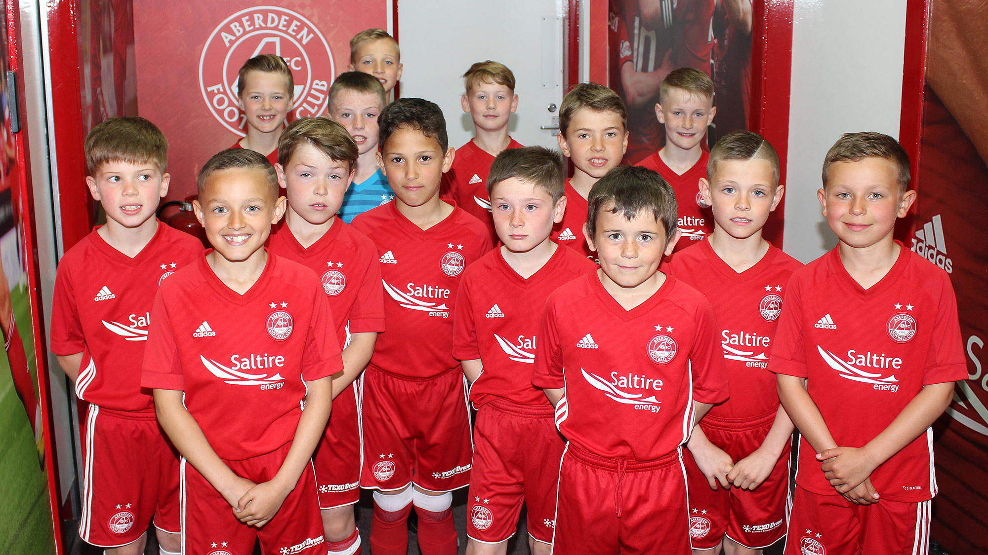 Youngest ever Dons squad heading to Europe