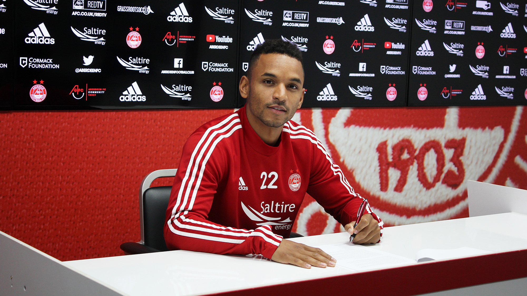 Funso Ojo joins The Dons