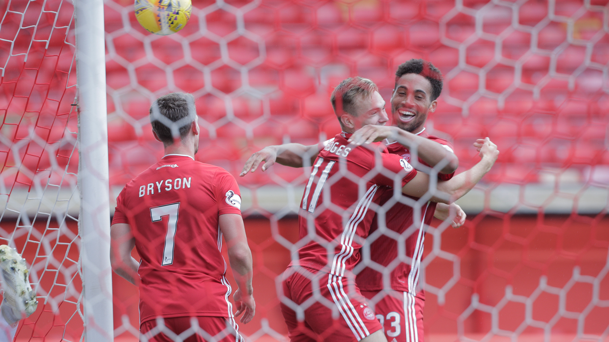 Report | Dons get back to winning ways at Pittodrie