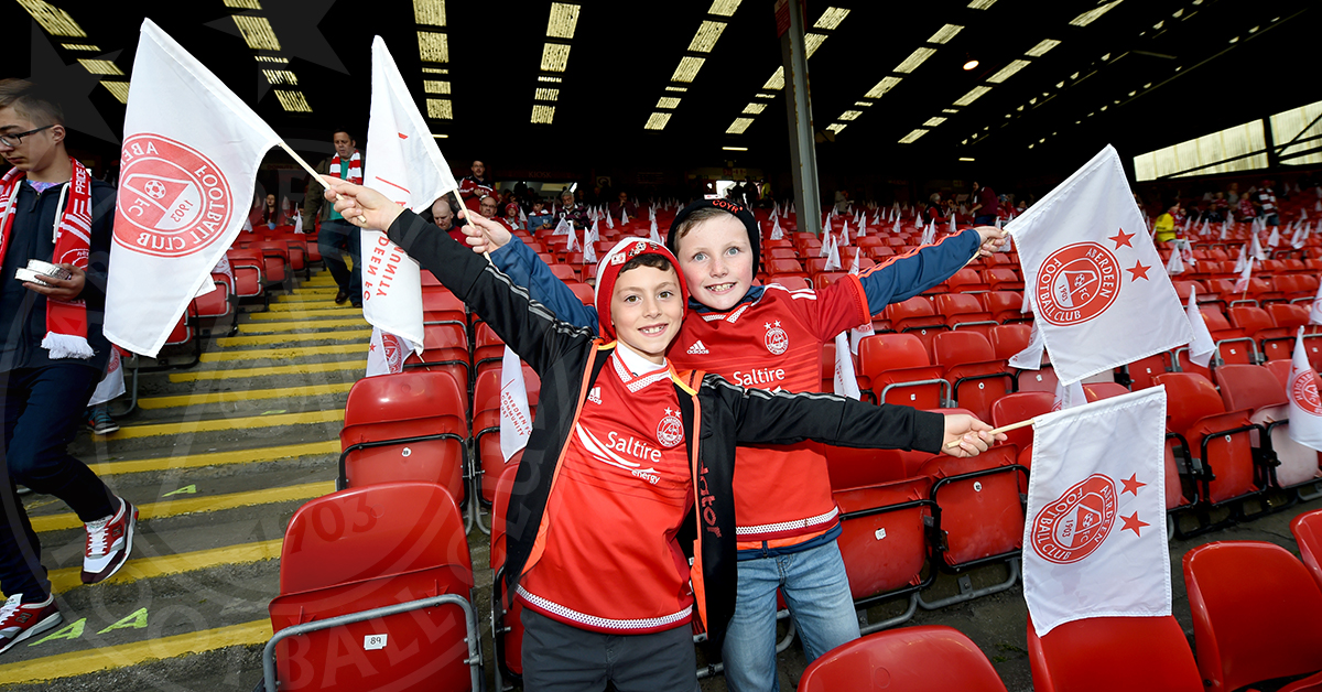 Junior Dons Day   Join the team at Pittodrie!