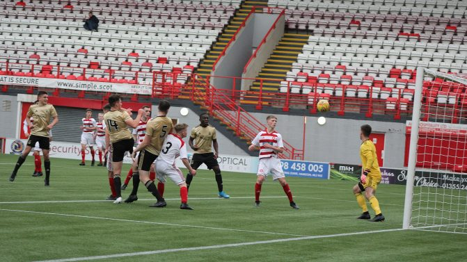 Late header sees 18s maintain 100% record