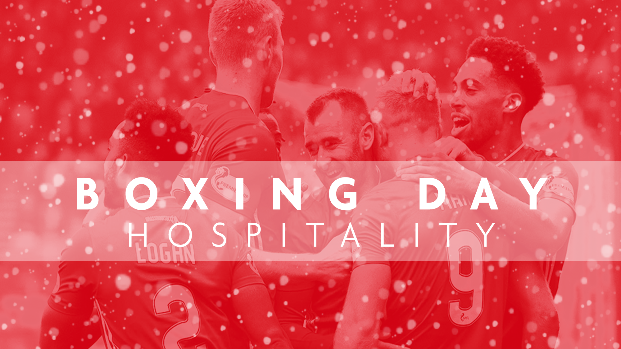 Festive Hospitality at Pittodrie