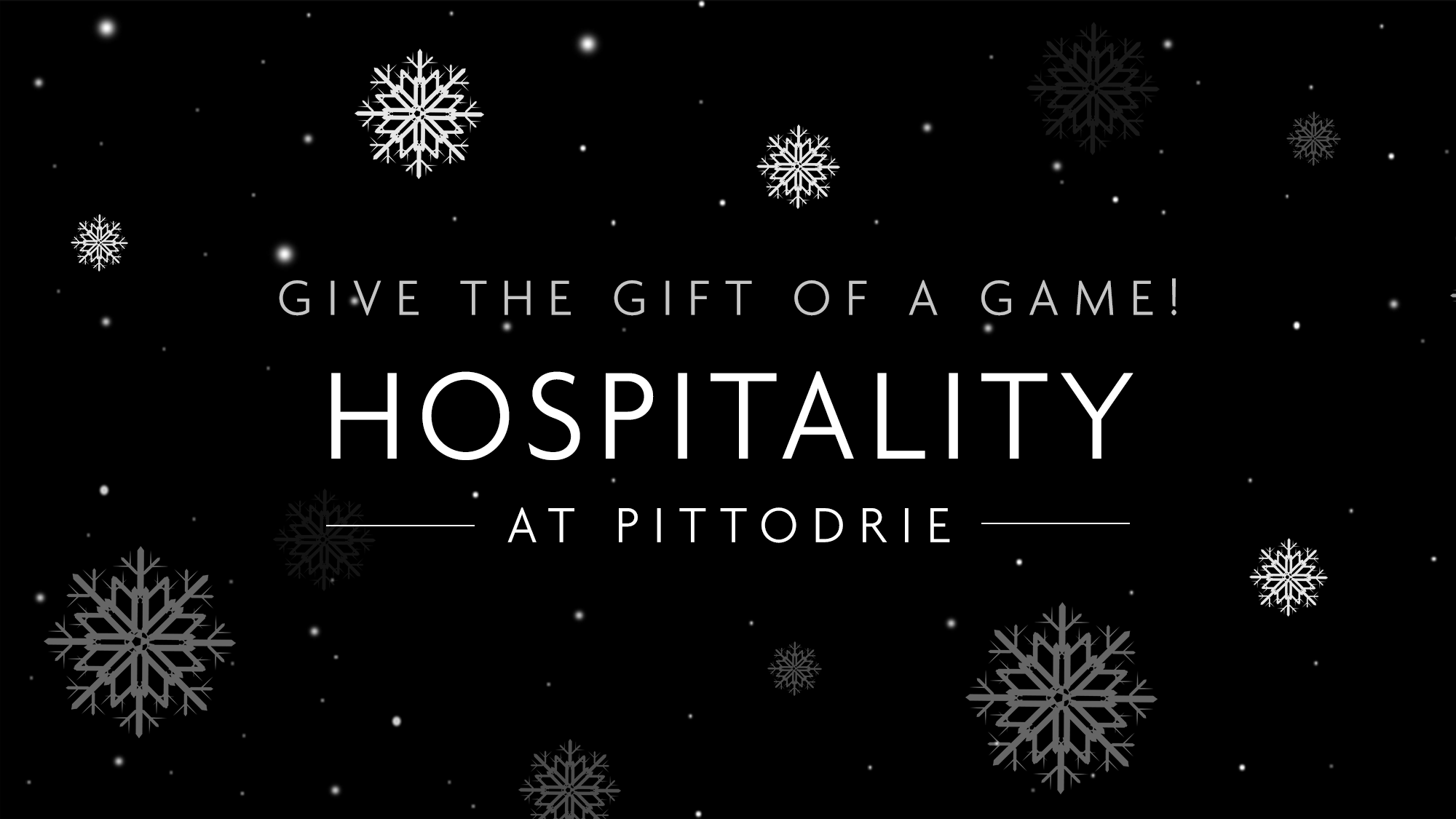 Give the gift of hospitality
