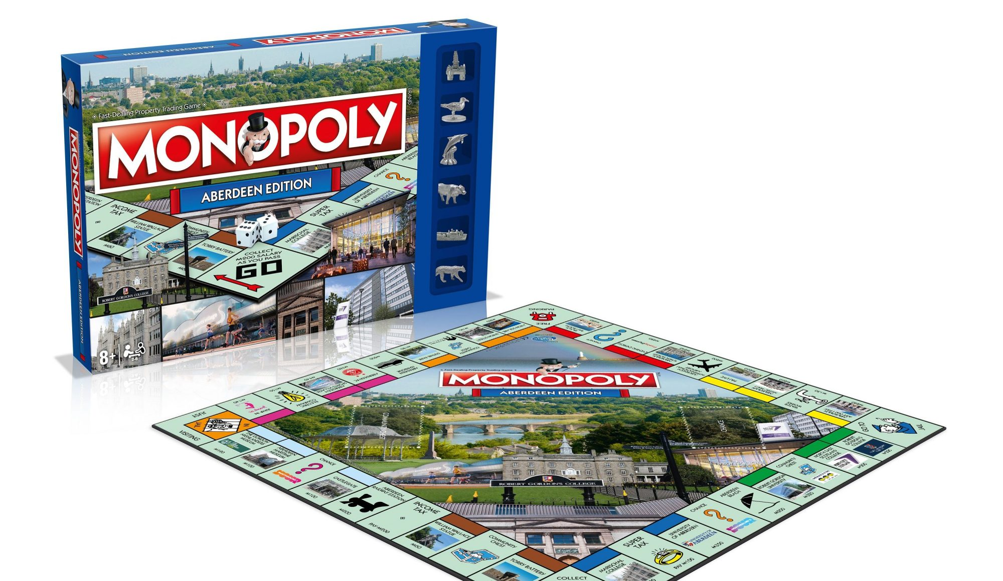 ABERDEEN FC TO STAR IN BRAND NEW ABERDEEN MONOPOLY GAME