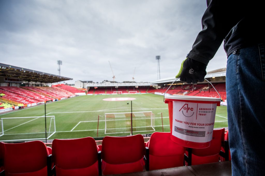 Local organisations nominated to benefit from can collections at Pittodrie