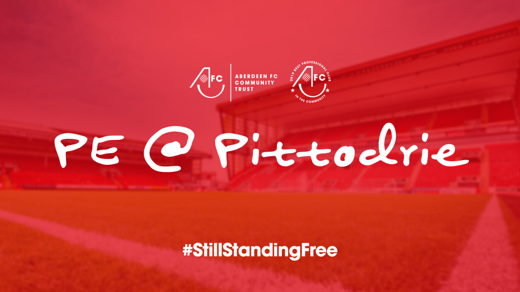 Join AFCCT for PE @ Pittodrie