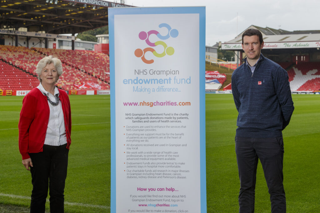 NHS Grampian Endowment Fund awards £50,000 to AFC Community Trust to support communities