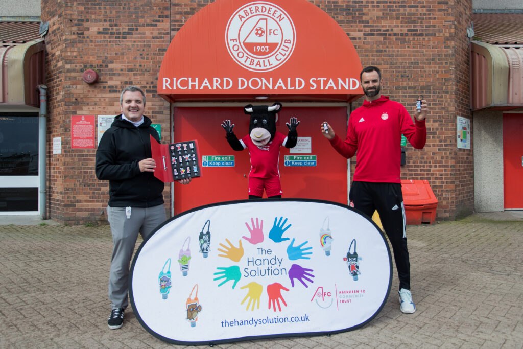 The Handy Solution partner with AFCCT to encourage everyone to keep their hands clean