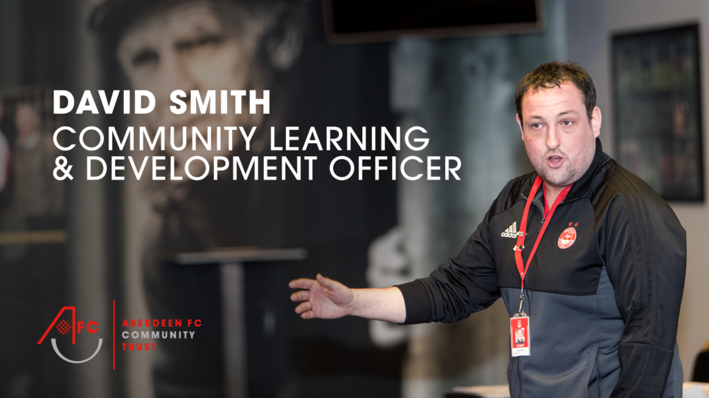 David Smith, Community Learning & Development Officer at AFCCT