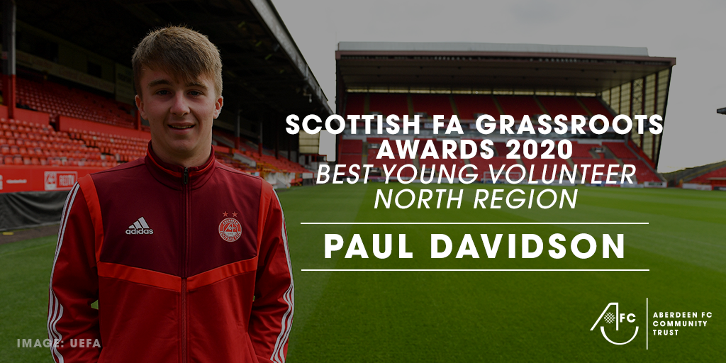 Paul Davidson | SFA North Region Best Young Volunteer 2020