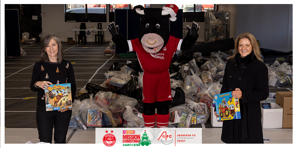"Aberdeen Football Club Community Trust Helps Make Christmas ""Mission Possible"""