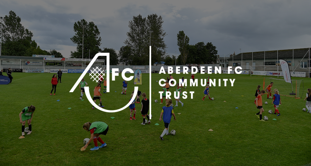 Aberdeen FC Community Trust's work with young people bolstered by Barclays' donation from their £100m COVID fund