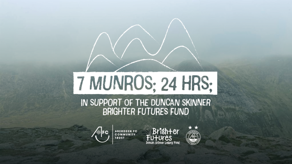 Fabulous four AFCCT Munro baggers take on the magnificent seven in aid of Brighter Futures