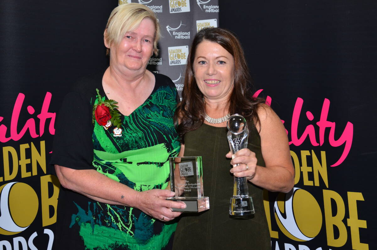 2019 Vitality Goalden Globe Awards voting – Sheelagh Redpath Grassroots Official Award