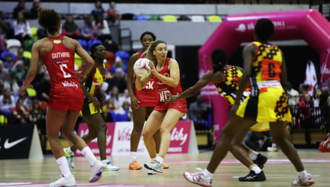 Vitality Roses long squad revealed for the Netball Quad Series and Roses A matches