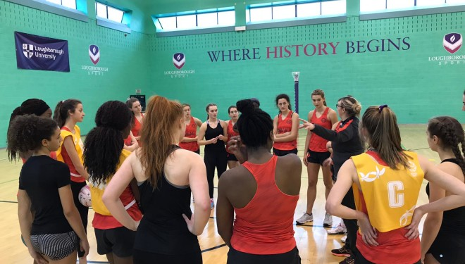 England U17 squad selected for Netball Europe