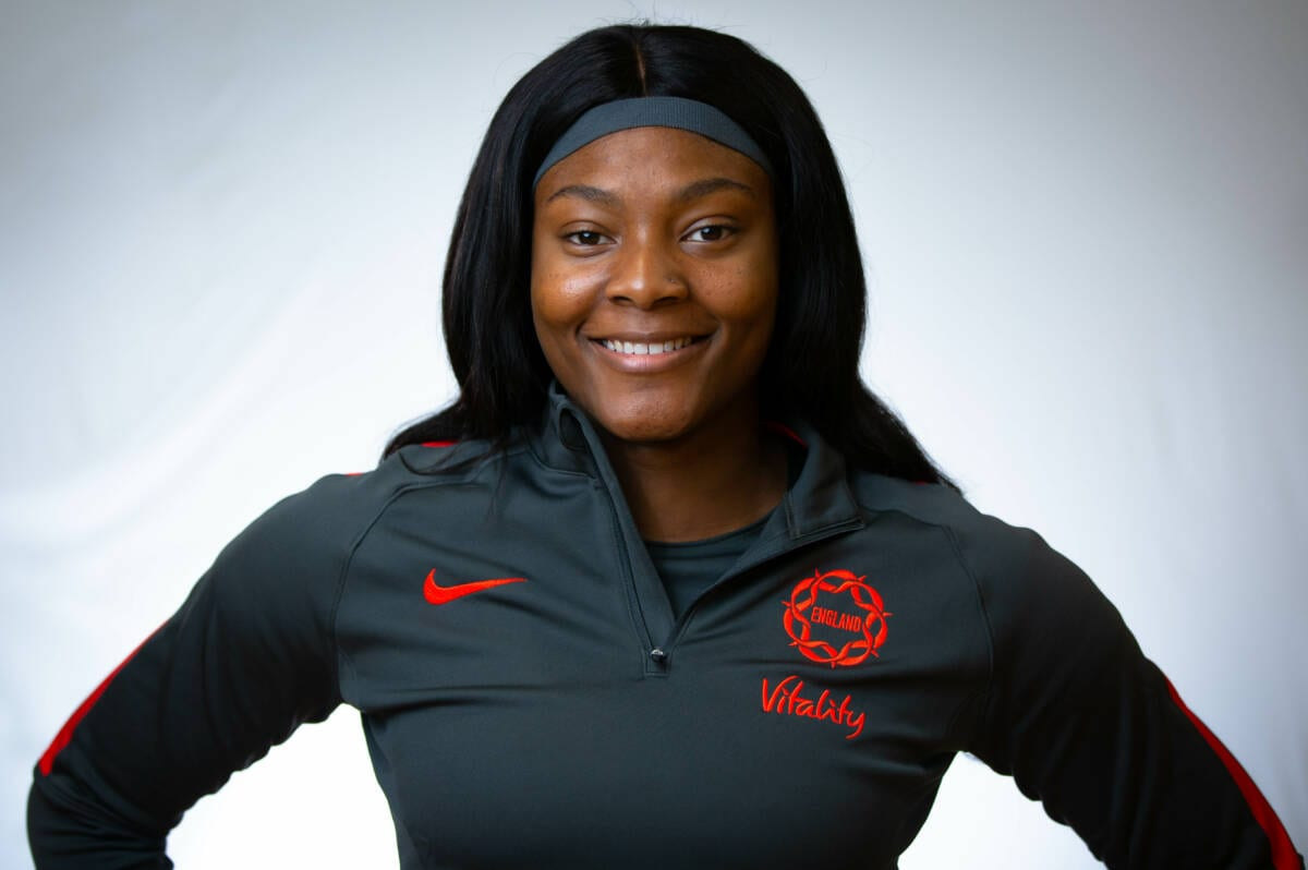 Halimat Adio of the Vitality Roses.