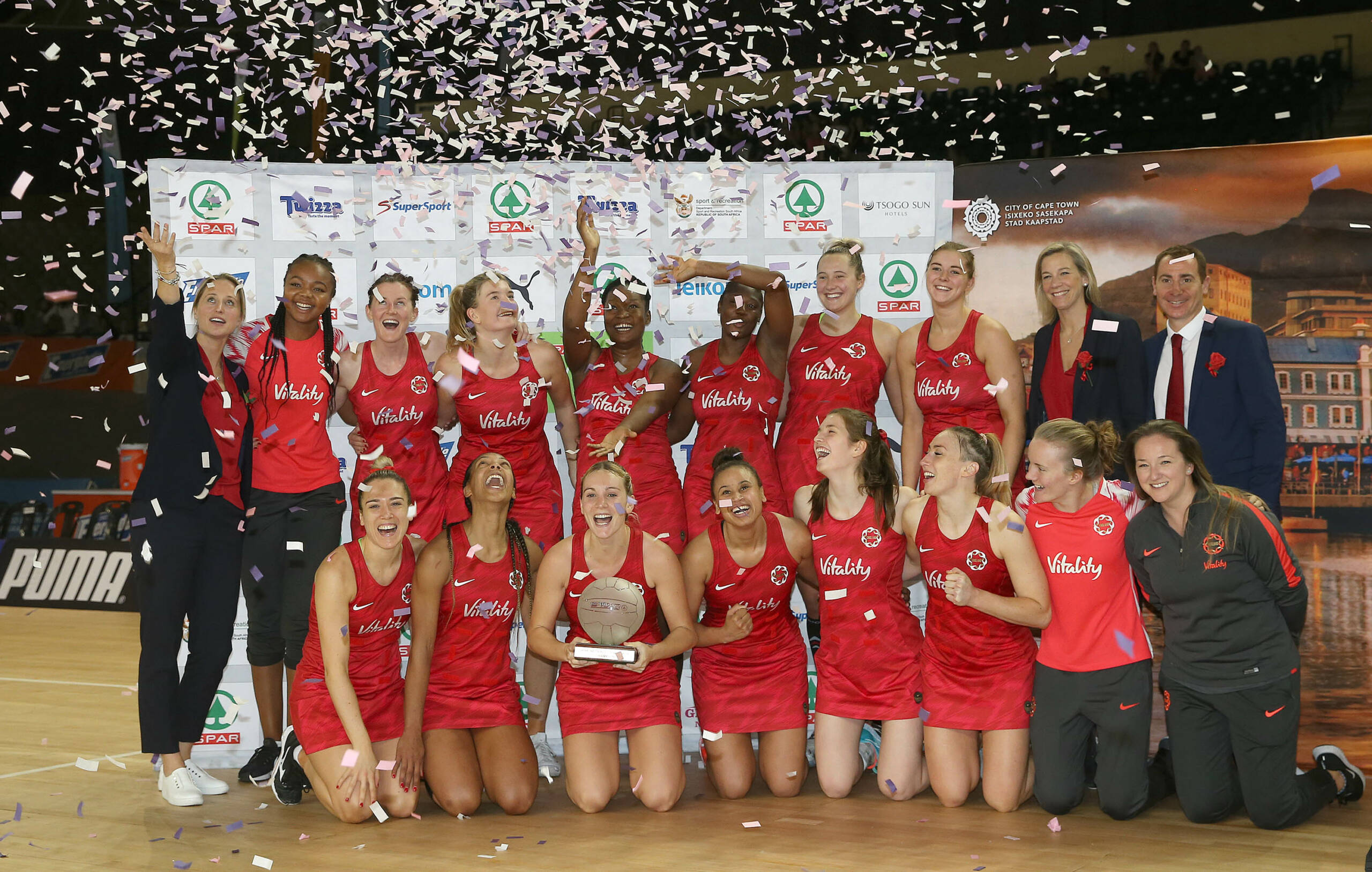 England Netball | Match Reaction: South Africa 54-48 ...
