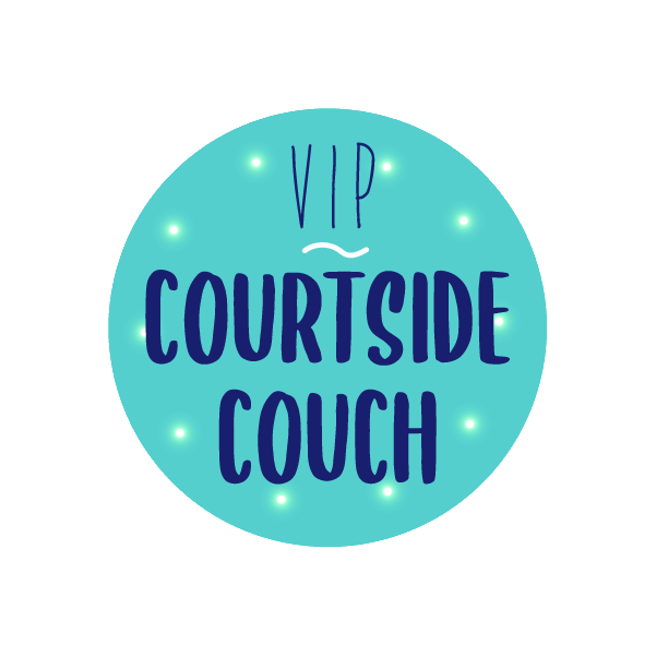 VIP Courtside couch button